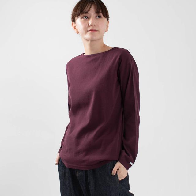 BIWACOTTON ボートネックTシャツ
