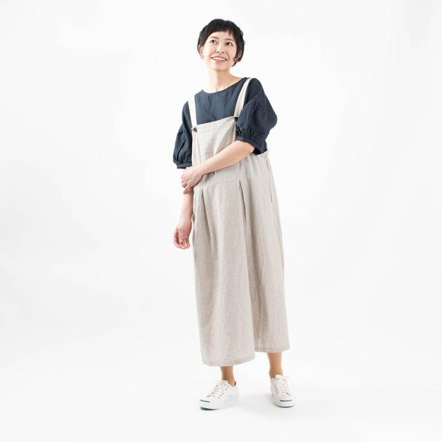 blue willow ジャンパースカート