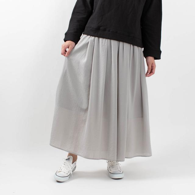 Bliss bunch ギャザーロングスカート