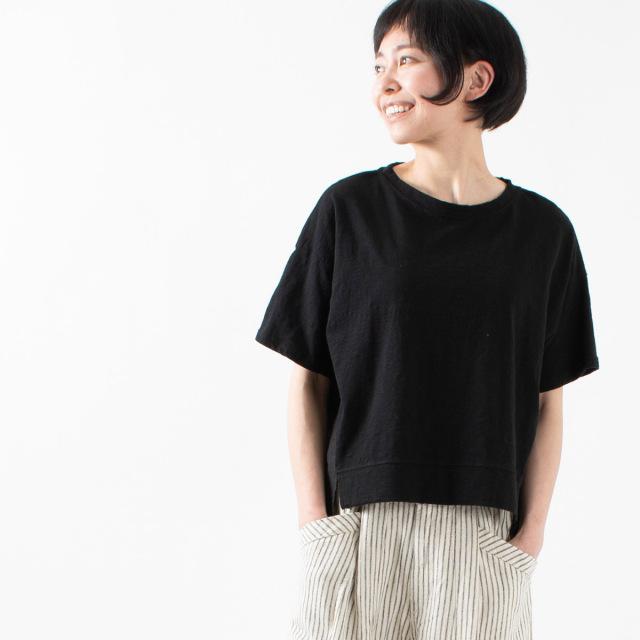 nuance of F 切替半袖Tシャツ