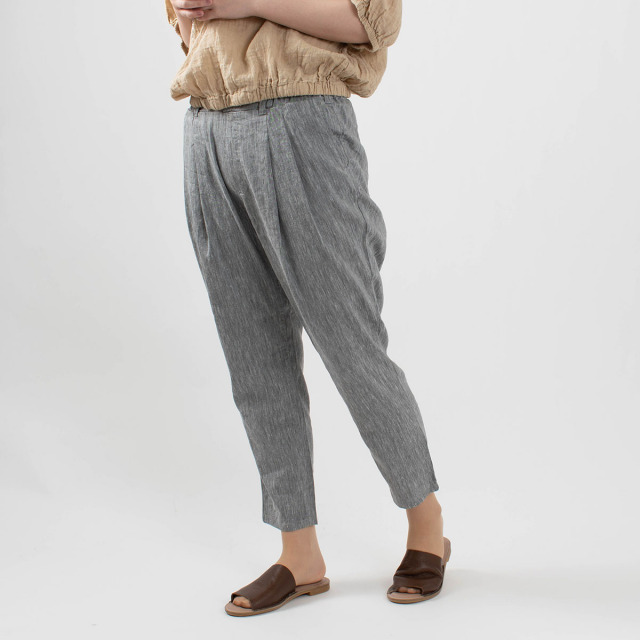 Westwood Outfitters 涼しい麻のタックテーパード