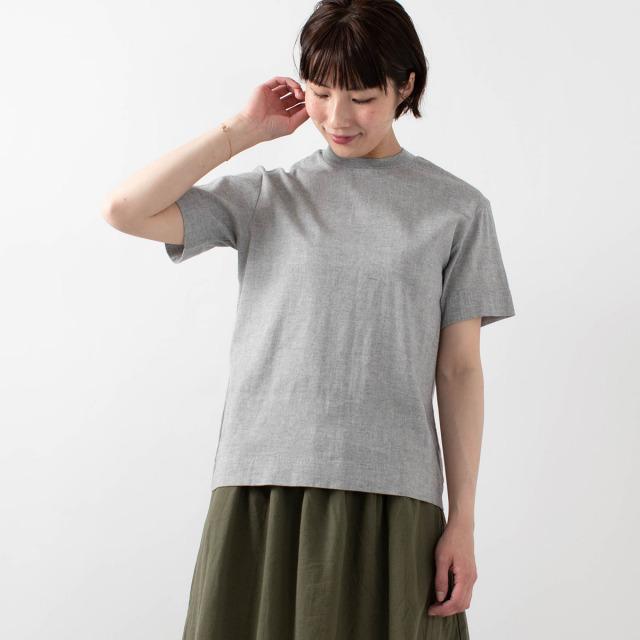 BIWACOTTON モックネックTシャツ