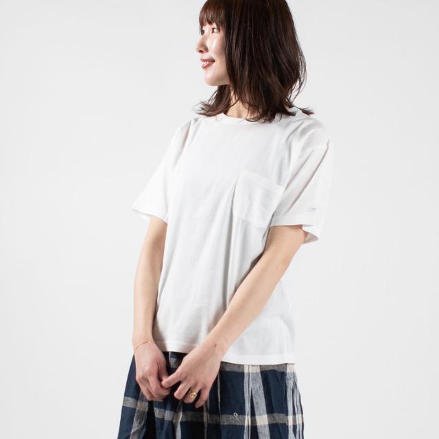 BIWACOTTON クルーネックポケットTシャツ