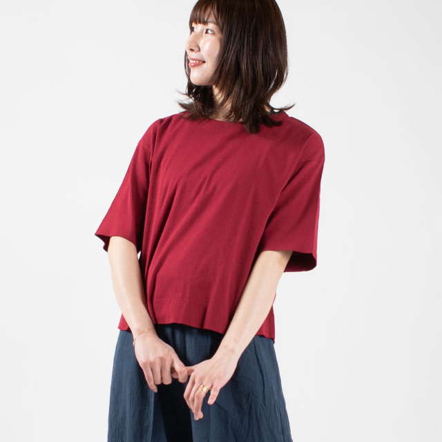 BIWACOTTON 半袖ビッグTシャツ