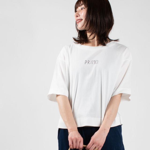 BIWACOTTON × FIRST コラボ半袖ビッグTシャツ