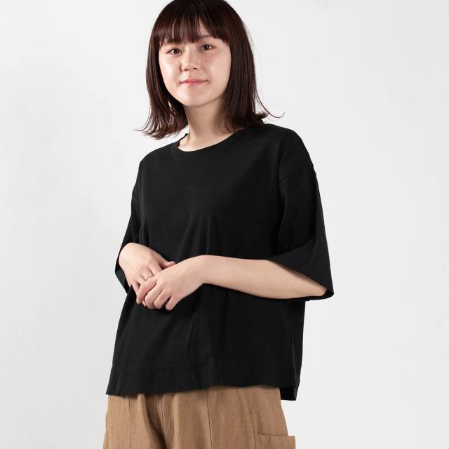 BIWACOTTON 半袖無地ビッグTシャツ