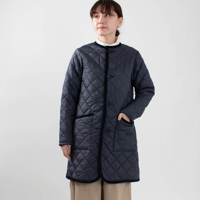 【予約商品】LAVENHAM LONGLINE ROUND COLLAR COAT