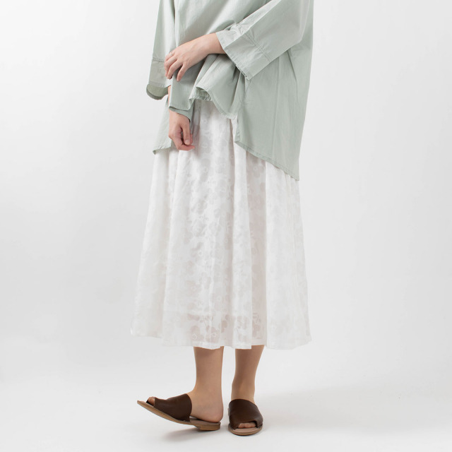 SUN VALLEY 花柄スカート