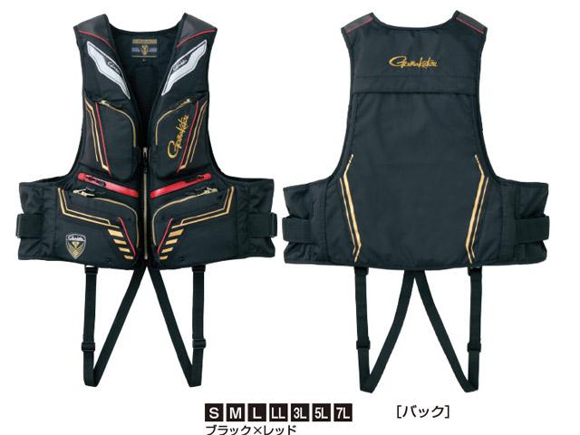 ★がまかつ ウィンドストッパー(R)フローティングベスト GM-2186★