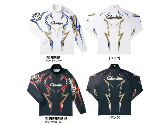 ★がまかつ 2WAYプリントジップシャツ(長袖) GM-3540★