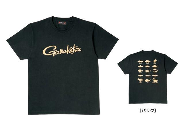 ★がまかつ Tシャツ(筆記体ロゴ) GM-3576★