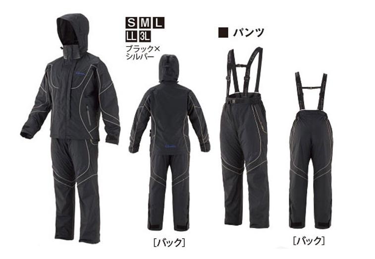 ★がまかつ ゴアテックスレインスーツ GM-3603★