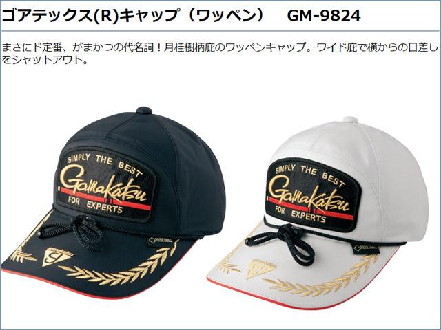 ★ご予約受付中★がまかつ ゴアテックス(R)キャップ(ワッペン) GM-9824
