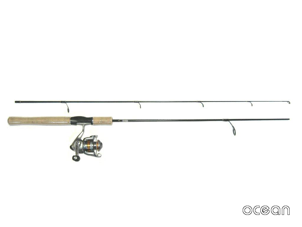 スピニング バスロッド BS32-6'0(1.8m) & リール(S1A10)セット!