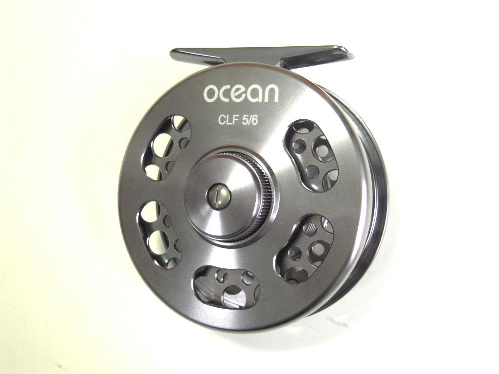フライフィッシング、管釣り 高性能フライリール ocean CLF5/6 (アウトレット)