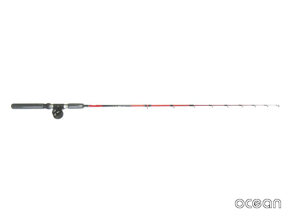 テトラ釣り、穴釣り テトラセット 岩礁110 & 小型タイコリール(40)