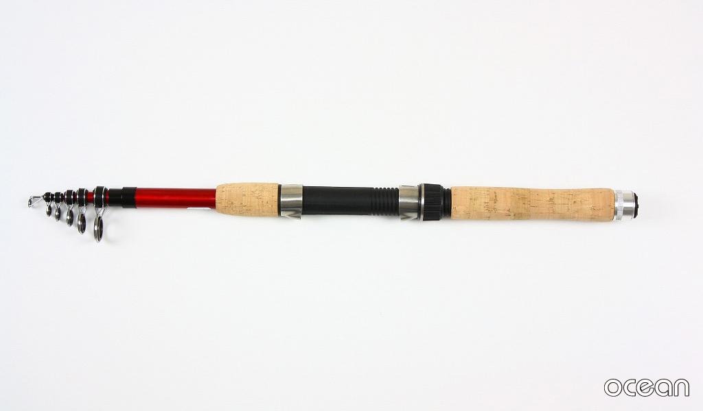 ちょい投げ釣り、波止、堤防 コンパクト カーボン 投げ竿 ocean LIGHT MARINE 240