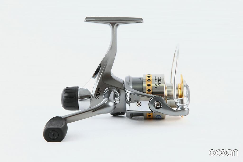 投げ釣り、シーバス、ルアー 釣り リヤドラグ スピニングリール ocean S2D 30 (5BB+1RB)