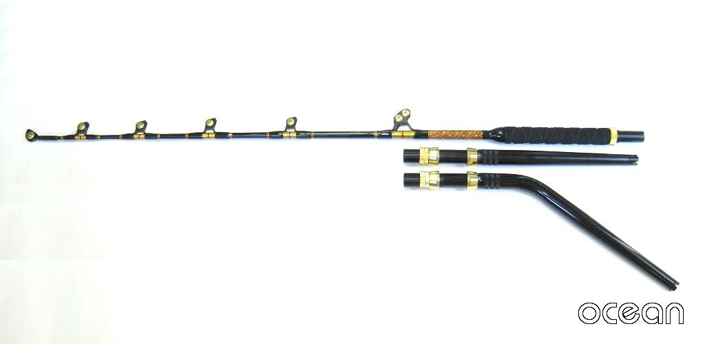 トローリングロッド ROST 6'6-130LBS カーブバット仕様 【沖縄県・離島へは別途送料】