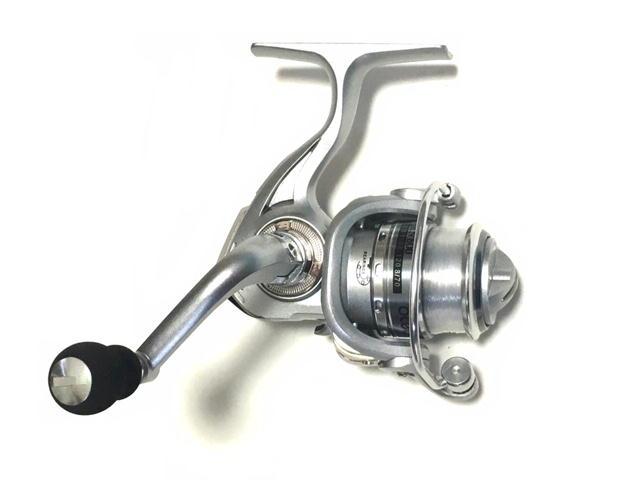 ちょい投げ釣り、バス釣り、ライトゲーム、ルアー 小型 スピニングリール ocean MN500 (アウトレット)