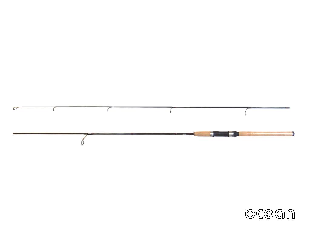 初心者、シーバス、ライトルアー カーボン スピニング ルアーロッド ocean TR02W 8'0 (アウトレット)