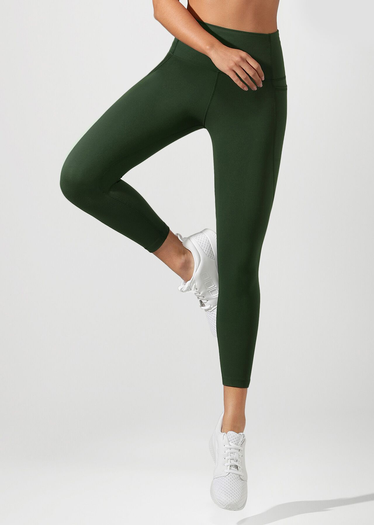 High Rise Pocket Core Ankle Biter Tight