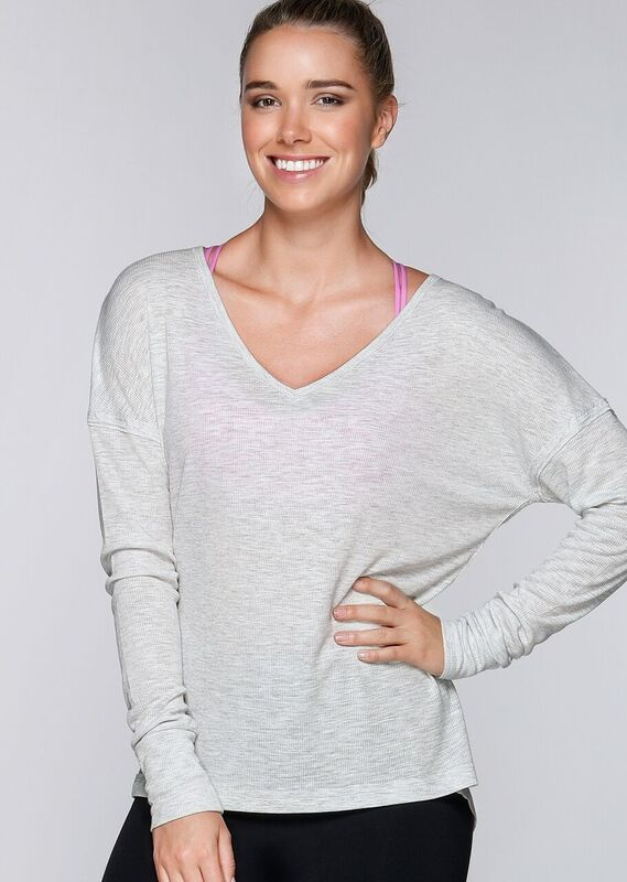 LJ Lounge L/Slv Top