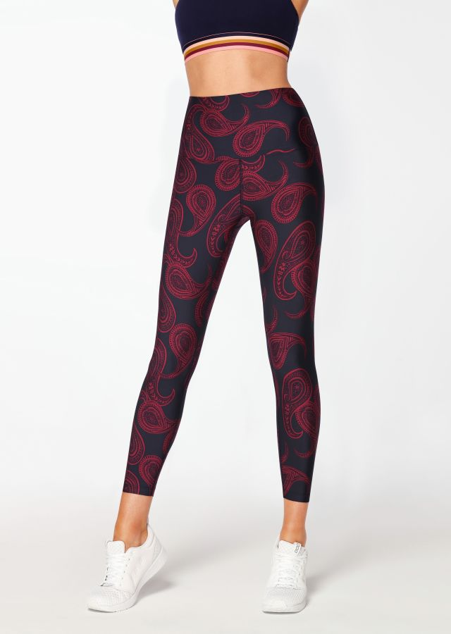 Street Paisley Ankle Biter Tight