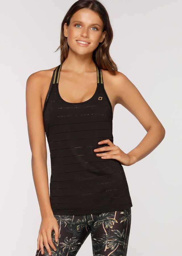 Horizon Stripe Active Tank