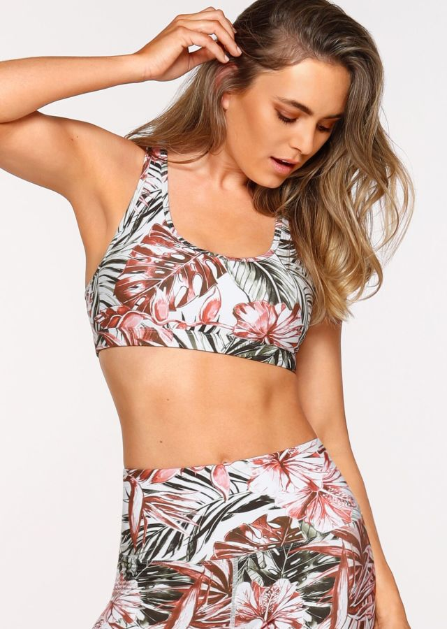 Botanical Run Sports Bra