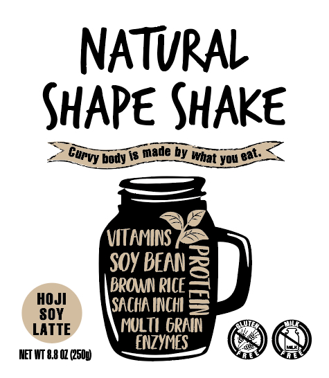 NATURAL SHAPE SHAKE