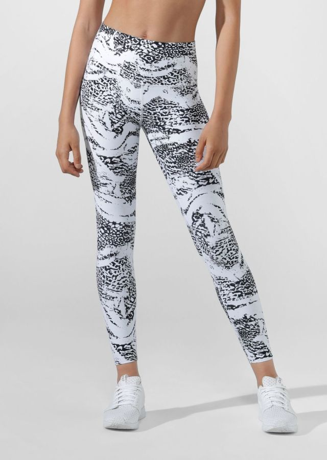 Snow Leopard Excel Full Length Tight