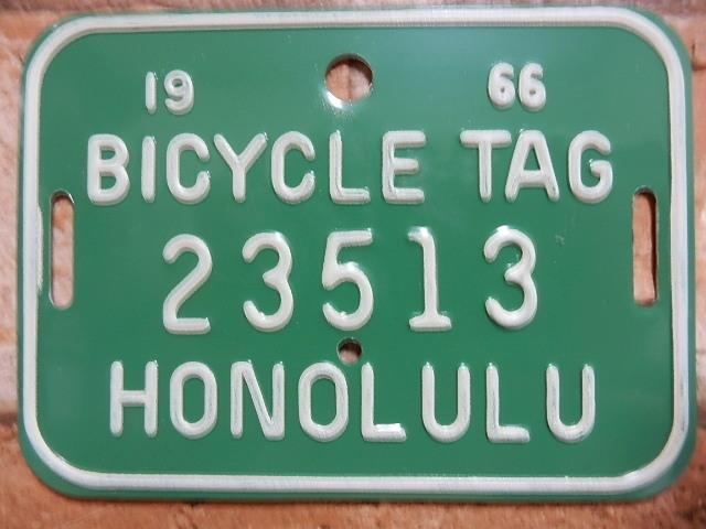 ホノルル バイク タグ g23513