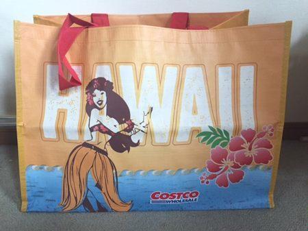 コストコハワイ限定ショッピングバッグ