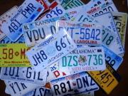 【送料無料】アメリカ50州ナンバープレートセット