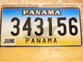 USEDナンバープレート パナマ