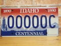 USEDサンプルプレート アイダホ ID