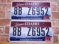 USEDペアプレート アイダホ ID