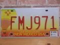 USEDナンバープレート ニューメキシコ NM
