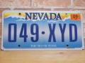 USEDナンバープレート ネバダ NV