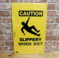 フロア サイン SLIPPER WHEN WET