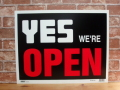 OPEN /CLOSED オープンサイン