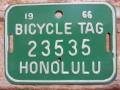 ホノルル バイク タグ g23535