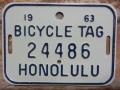 ホノルル バイク タグ w24486