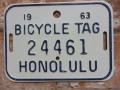 ホノルル バイク タグ w24461