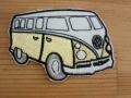 VW ワーゲン バス イエロー