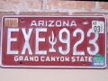 USEDナンバープレート アリゾナ AZ