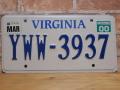 USEDナンバープレート バ-ジニア VA