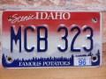 USEDモーターサイクルナンバープレート アイダホ ID