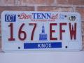 USEDナンバープレート テネシー TN